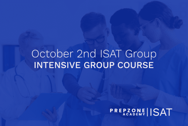 ISAT Intensive Group Course Schedule - October 2nd, 2021